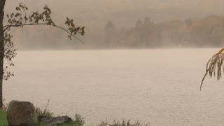 Fog And Low Clouds Over Lake 4