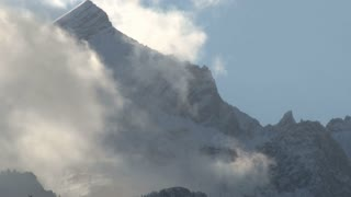 Fog Over Mountain Range 2