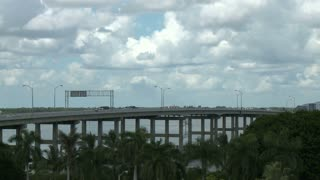 Fort Myers Bridge Clouds