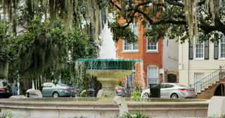 Fountain in Savannah Square