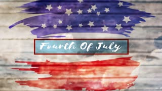 Fourth Of July: Patriotic Title Background