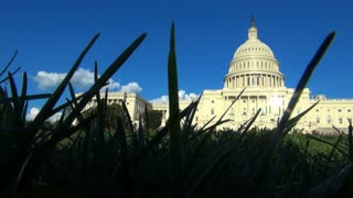 Front of the Capitol Building View From the Grass