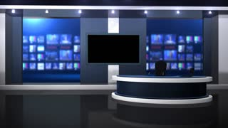 Front View Anchor Desk