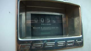 Gallon Indicator On Gas Pump Going Up