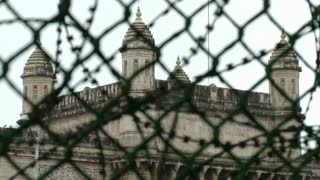 Gateway of India Through Fence