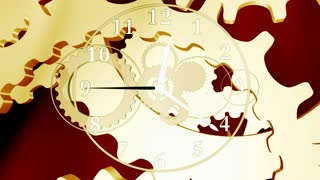 Gears of Time Clock