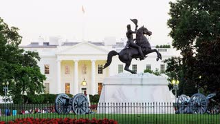 General Andrew Jackson White House Statue