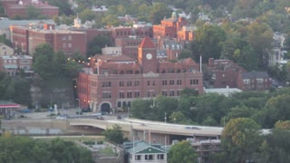 Georgetown University to Bridge Sunset Time Lapse