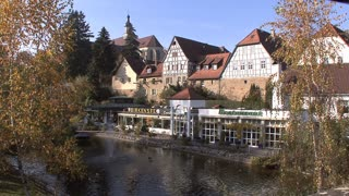 Germany Town on the River