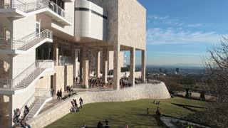 Getty Center Overlooking LA