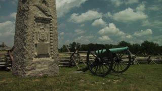 Gettysburg Battlefield Artillery Monument