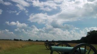 Gettysburg Battlefield Cannons