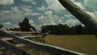 Gettysburg Battlefield Rail Fence 2