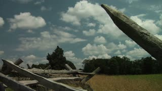 Gettysburg Battlefield Rail Fence
