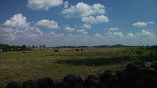 Gettysburg Battlefield Stone Wall