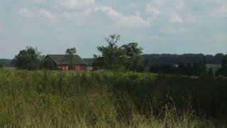Gettysburg Battlefield Wheatfield Barn
