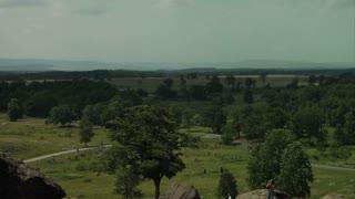 Gettysburg Battlefield Wide