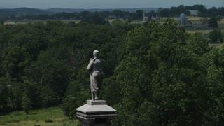 Gettysburg Battlefield Zouave Monument
