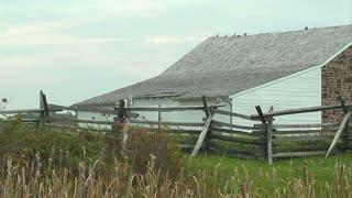 Gettysburg Battlefiend Barn and Fence