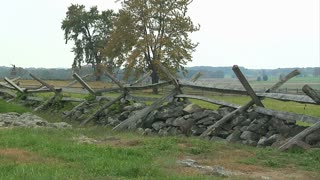 Gettysburg Picketts Charge Fence