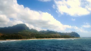 Gillin Beach On Kauai Timelapse