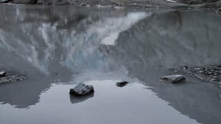 Glacial Pond Reflection