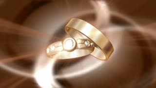 Glistening Wedding Bands