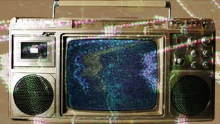 Glitch TV Static