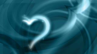 Glittering Love Heart
