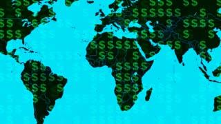 Global Economy Map