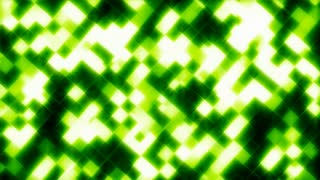 Glowing Green Mosaic Tiles