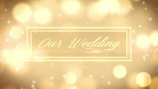 Glowing Wedding Banner
