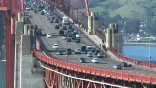 Golden Gate Bridge Traffic