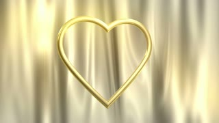 Golden Heart Spinning