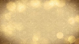 Golden Orb Background