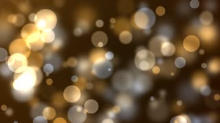 golden yellow party lights celebrations abstract background