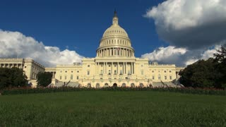 Gorgeous View of the Front of the US Capitol Building