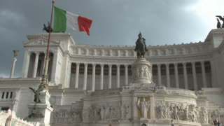 Government Building with Italian Flag 3