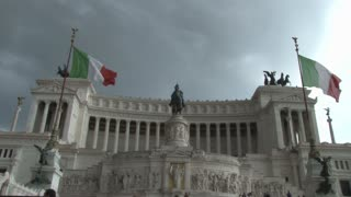 Government Building with Italian Flag 4