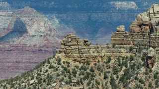 Grand Canyon Sandstone Cliffs