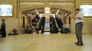 Grand Central Station Escalator