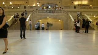 Grand Central Station Stairs Timelapse