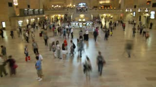Grand Central Terminal Travel Timelapse