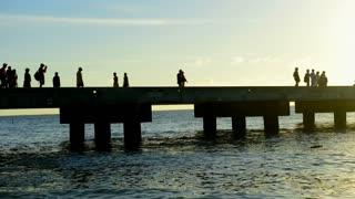 Grand Turk Sunset Pier