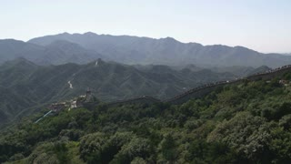Great Wall of China in Badaling Section 4