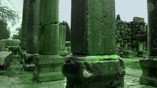 Green Ancient Synagogue Ruins 2