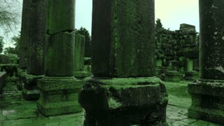 Green Ancient Synagogue Ruins 4