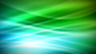 Green Blue Stream Beam