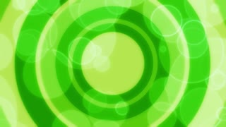Green Bubbles and Circles
