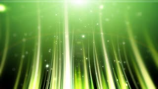 Green Grassy Particles
